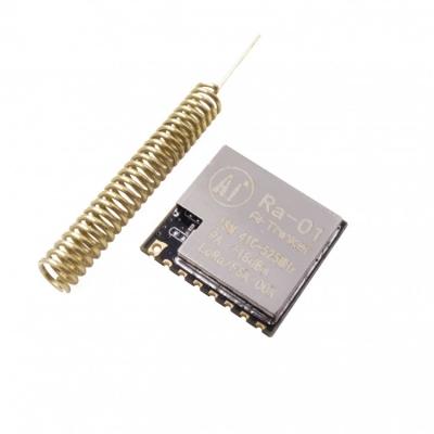 ماژول رادیویی برد بلند LORA RA-01 چیپ SX1278  آنتن فنری 433MHZ