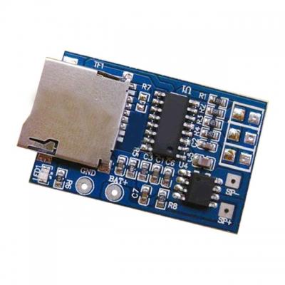 ماژول پخش MP3 از حافظه Micro SD با تقویت کننده داخلی 2 وات