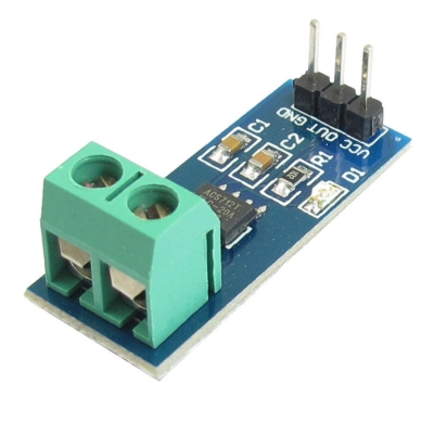 ماژول سنسور جریان اثر هال ACS712ELCTR-20A مدل B