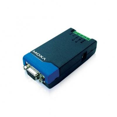 مبدل RS-232 به RS-485 دو طرفه فول داپلکس TCC-80 با ایزولاسیون 2.5کیلو ولت محصول MOXA