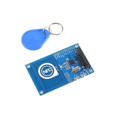 هت NFC برای بورد رسپبری مبتنی بر PN532 همراه حلقه کلید RFID