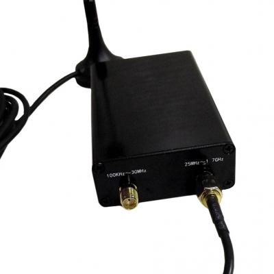 گیرنده SDR باند 100 کیلوهرتز تا 1.7 گیگاهرتز با چیپ RTL2832U و R820T