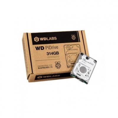 هارد دیسک PiDrive با حجم 314 گیگابایت با ارتباط USB مخصوص رسپبری