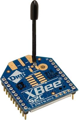 ماژول XBee سری (S2CTH) با آنتن سيمی 2.4GHz توان 6mW