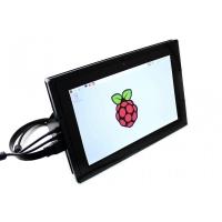 نمایشگر 10.1 اینچ رنگی IPS با تاچ خازنی 1280x800 با ورودی HDMI به همراه قاب مدل B محصول Waveshare
