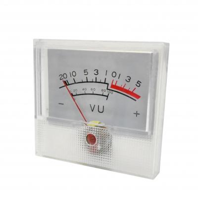 نمایشگر VU وات و دسیبل میکرو آمپر متر پنلی میتر آنالوگ 100 میکرو آمپر