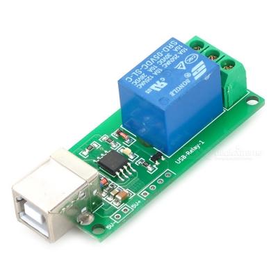 ماژول رله یک کاناله با کنترل USB