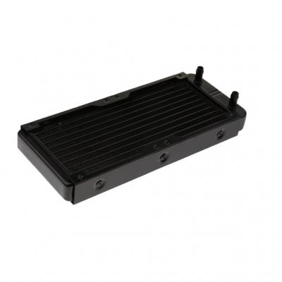 رادیاتور آلومینیومی 2 فن 10 پایپ 273x120x33mm