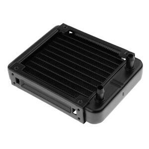 رادیاتور آلومینیومی 1 فن 10 پایپ 154x120x32mm