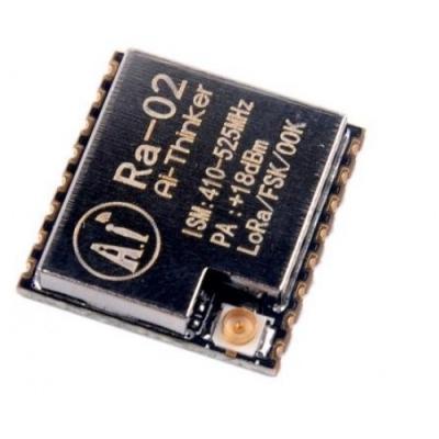 ماژول رادیویی برد بلند LORA RA-02 فرکانس 410 تا 525MHZ چیپ SX1278