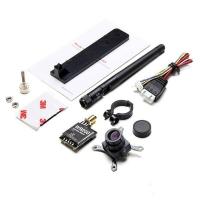 ست دوربین وایرلس CMOS 700TVL با فرستنده  5.8GHz توان 200 میلی وات
