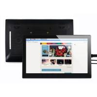 نمایشگر 13.3 اینچ رنگی IPS تاچ خازنی 1920x1080 ورودی HDMI همراه قاب شیشه ای مدل H محصول Waveshare
