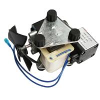 پمپ وکیوم بدون روغن HL-15V 220V 15Lmin -80KPA همراه پایه