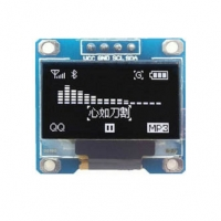 0.96inch 128X64 OLED Display Module Yellow-Blue I2C