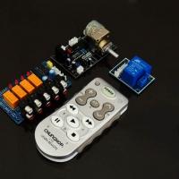 کیت ریموت کنترل با ولوم موتور دار و بورد انتخاب سیگنال ورودی برای سیستم های صوتی و تصویری