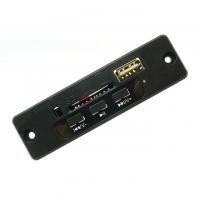 ماژول پنلی پخش فایلهای صوتی از حافظه SD و USB با فرمت WAV و MP3 با تقویت کننده استریو 3 وات