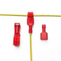 کانکتور اتصال سریع T شکل برای سیم 0.5 تا 1.5 میلی متر مدل T1