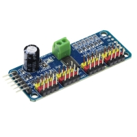 16-Channel 12-bit PWM/Servo Driver - I2C interface - PCA9685 for Arduino Raspberry Pi DIY Servo Shield Module