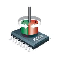 AS5045 سنسور روتاری انکودر 12 بیت قابل برنامه ریزی به همراه آهنربا