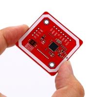 ماژول آر اف آی دی PN532 NFC / RFID با قابلیت خواندن و نوشتن همراه کارت و حلقه کلید RFID