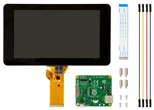 نمایشگر 7 اینچ رسپبری تاچ خازنی اریجینال Element14