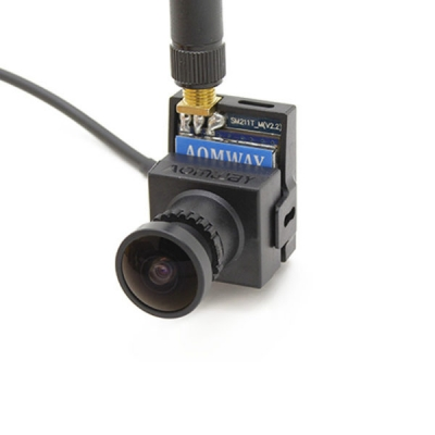 دوربین وایرلس 700TVL CMOS با فرستنده 5.8گیگاهرتز 200 میلی وات محصول AOMWAY