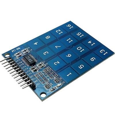 کی پد تاچ 4X4 با آی سی TTP229