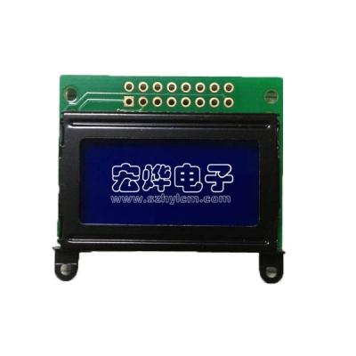 نمایشگر LCD بک لایت آبی 0802 کاراکتری مدل HY0802A