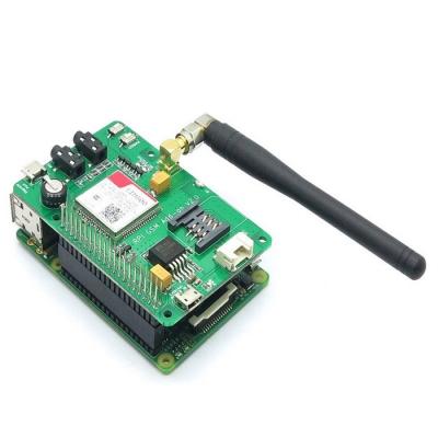هت GSM/GPRS رسپبری پای با SIM800 به همراه آنتن