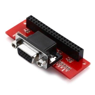 هت VGA 666 رسپبری پای برای اضافه کردن خروجی VGA