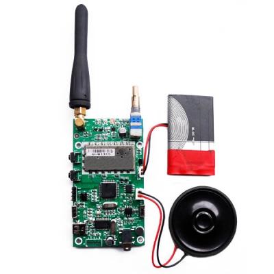 کیت کامل فرستنده و گیرنده صدا واکی تاکی فرکانس 400 تا 470 مگاهرتز توان 2 وات با SR_FRS_2W(بدون باطری)