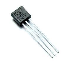 سنسور دمای دیجیتال DS18B20 پکیج TO-92