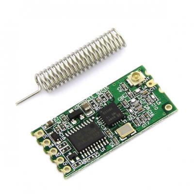 ماژول انتقال دیتا برد کوتاه فرکانس 433MHz رابط سریال مدل HC-11 با چیپ C1101 با برد 40 متر