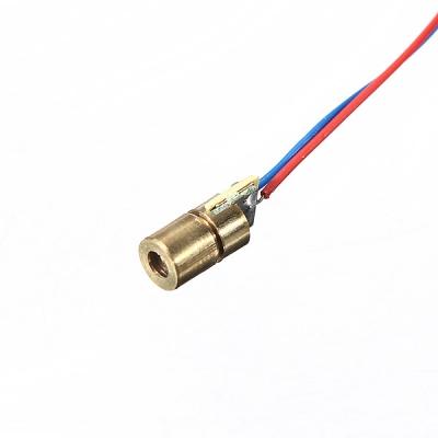 دیود لیزر قرمز 5 ولت 5 میلی وات با طول موج 650 نانومتر