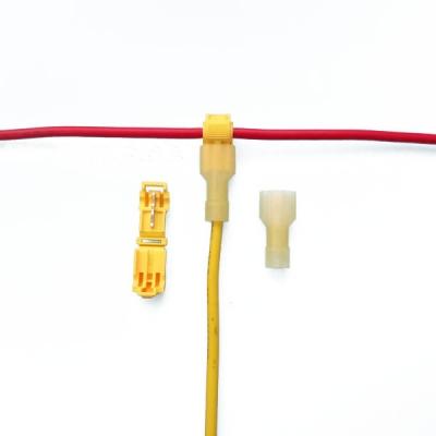 کانکتور اتصال سریع T شکل برای سیم 0.5 تا 6 میلی متر مدل T3