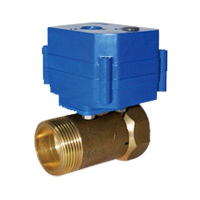 شیر گازی موتوردار سایز DN25 با ولتاژ کاری 9 تا 24 ولت DC مدل CWX-15Q