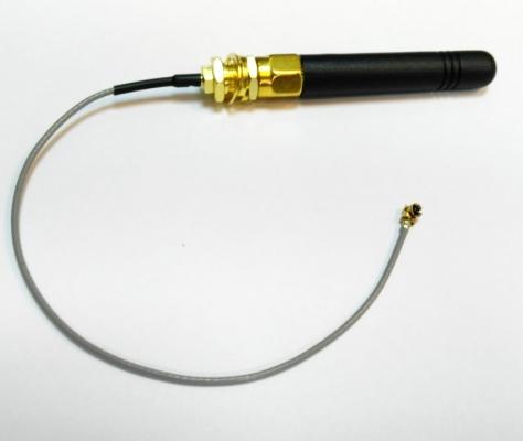 آنتن GSM کوچک 5cm با تبدیل UFL