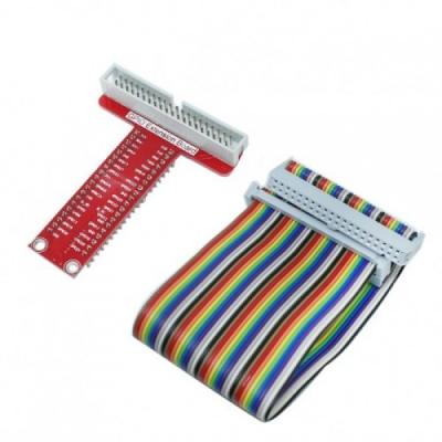 برد توسعه 40 پین برد رسپبری پای همراه کابل T-Cobbler