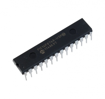 آی سی میکرو کنترلر 8 بیتی PIC16F876A-I/SP
