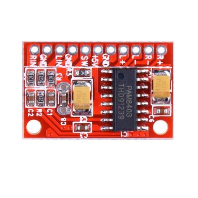 ماژول استریو PAM8403  آمپلیفایر 3 وات