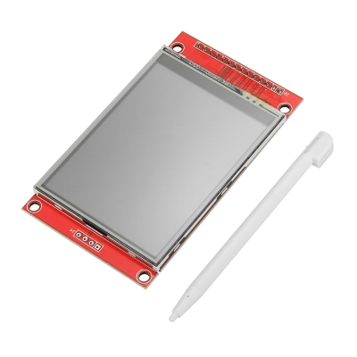 نمایشگر LCD TFT فول کالر 2.4 اینچ با درایور Ili9341 با ارتباط SPI