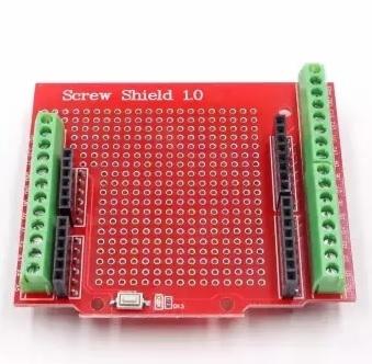 شیلد پروتوتایپ ترمینال پیچی(screw shield) آردوینو