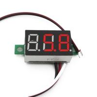 ولت متر سه رقمی دیجیتال 0.36 اینچ DC 0V-30V قرمز
