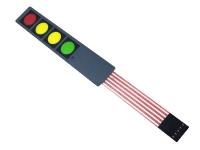 صفحه کلید رنگی پلی کربنات چهارتایی