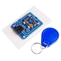ماژول MiFare خواندن و نوشتن 13.56MHZ با کارت و حلقه کلید RFID