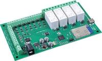 برد کنترل 4 رله با WiFi مدل WIFI484 محصول Robot Electronics انگلستان