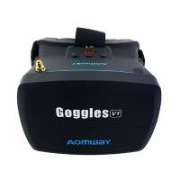 عینک هدایت پرنده 5.8GHz FPV مدل VR Goggles V1 محصول AOMWAY
