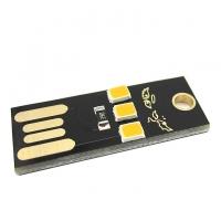 ماژول چراغ LED کوچک USB دارای سه LED با نور گرم