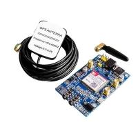 شیلد GSM/GPRS و GPS آردوینو با SIM808 همراه آنتن GSM و GPS