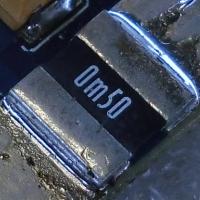 مقاومت شنت 0m50 SMD Shunt